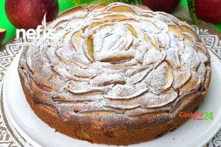 Elmalı Tarçınlı Kek Tarifi (Videolu)