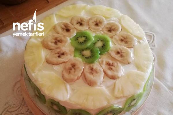Meyveli Pasta (Pastane Pastası) Tarifi