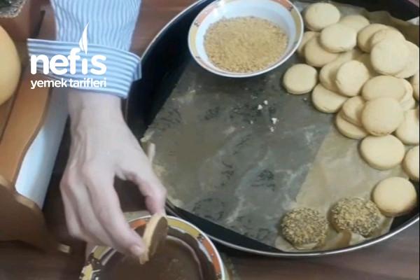 Mısır Gevrekli Nefis Kurabiye