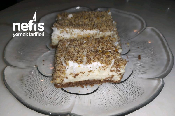Bisküvili Kumlu Pasta Tarifi