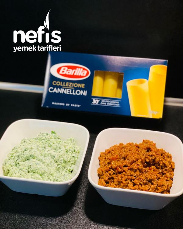 Cannelloni (Muhteşem lezzet)