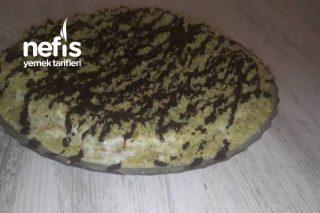 Ispanaklı Yaş Pasta (Pandispanyalı) Tarifi