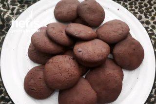 Kakaolu Damla Çikolatalı Cookie Tarifi