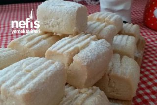 Sırlarıyla Pastane Usulü Un Kurabiyesi Tarifi