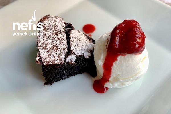 Sufle Tadında Unsuz Ve Glutensiz Çikolatalı Kek (Asmr Videolu) Tarifi