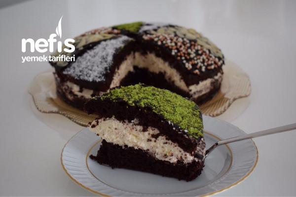 Fransız Tatlısı Çikolatalı Tropezien Tarifi