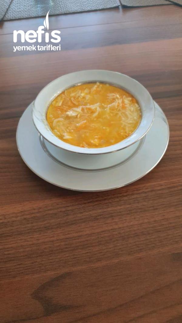 Havuçlu Tavuk Suyu Çorbası