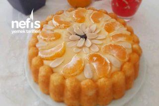 Mandalina Aromalı Kremalı Kek Tarifi