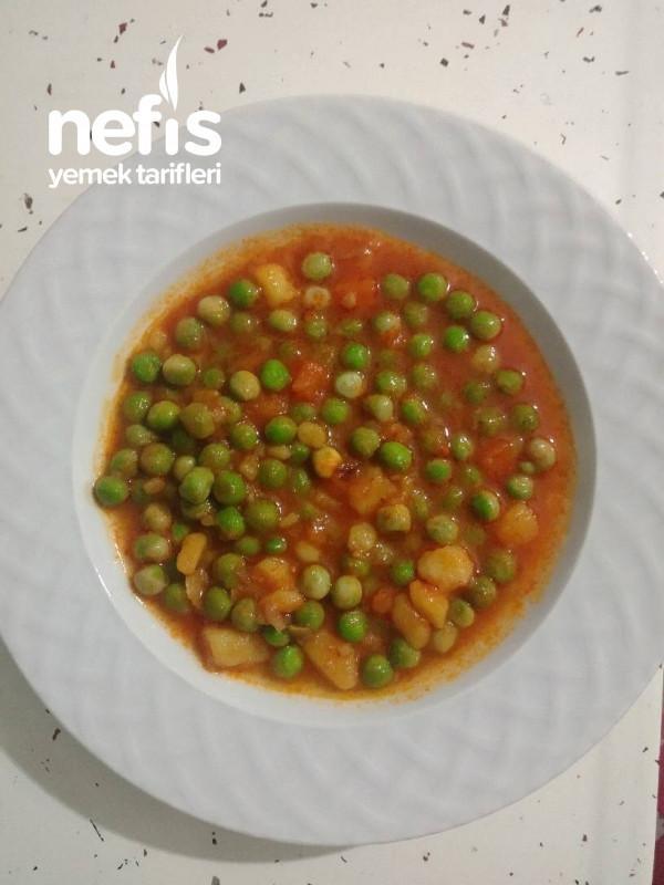 Sebzeli Bezelye Yemeği