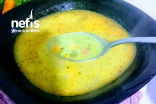 Tavuk Sulu Sebze Çorbası Tarifi