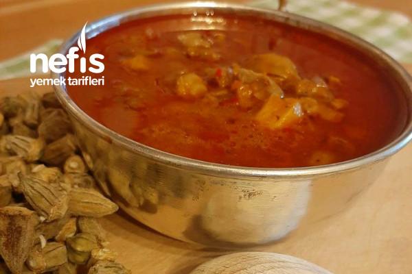 Bamya Çorbası Konya Mutfağının Nefis Çorbası Tarifi