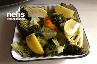 Brokoli Buğulama (Diyet Ve Sağlıklı) Tarifi