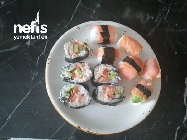 Evde Yerli Sushi