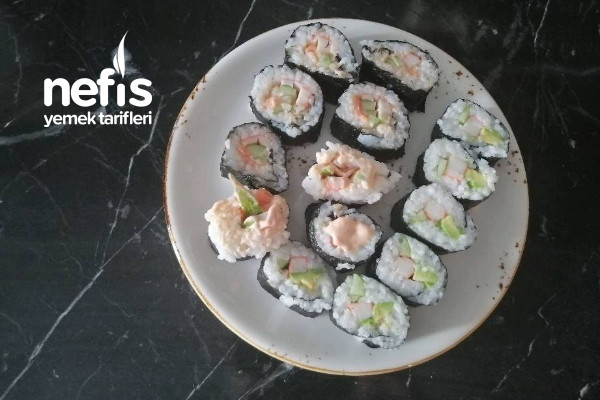 Evde Yerli Sushi Tarifi