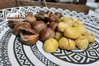 Kestaneyi Uludağdan Toparladım İki Farklı Pişirme Yöntemi Kullandım (Videolu) Tarifi