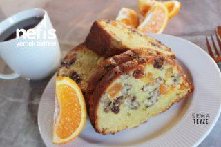 Kokusu Ve Lezzetiyle Mest Eden Portakallı Kek Tarifi