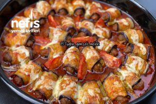 Muhteşem Köfteli Patlıcan Sarma Tarifim
