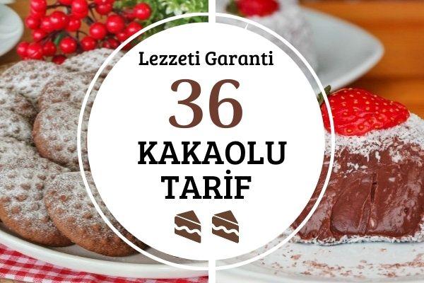Kakaolu Tarifler: Lezzeti Garanti 36 Tarif Tarifi