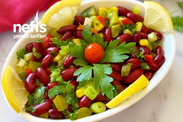 Kırmızı Fasulye Salatası Tarifi