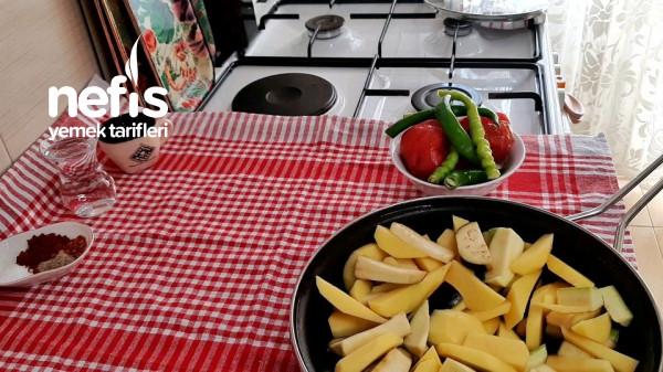 Kızartma Tadında Sebze Yemeği Lezzetine Şaşıracaksınız