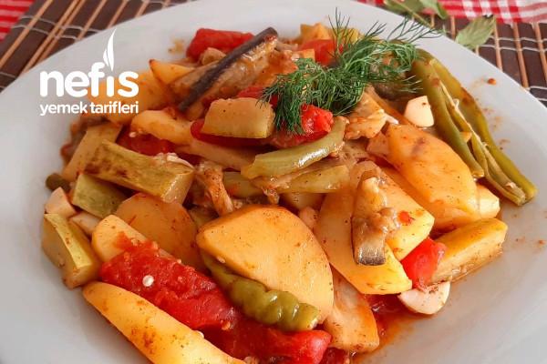 Kızartma Tadında Sebze Yemeği Lezzetine Şaşıracaksınız (Videolu)