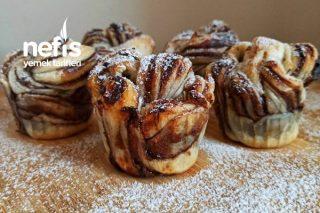 Milföy Muffin (En Pratik Tatlı) Tarifi
