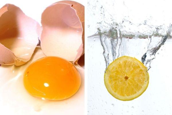 limon yumurta maskesi