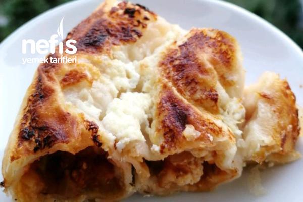 Tavuklu Börek (Artan Yemek Değerlendirme) Tarifi
