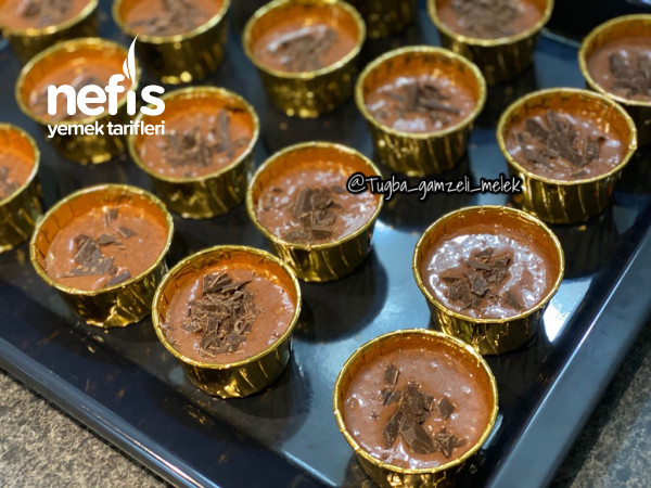 Toz Pudingli, Çikolata Parçalı Pamuk Cupcake