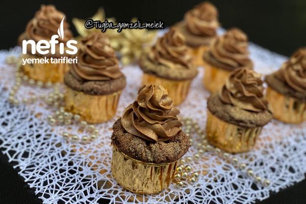 Toz Pudingli, Çikolata Parçalı Pamuk Cupcake Tarifi