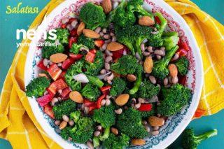 Börülceli Brokoli Salatası Tarifi