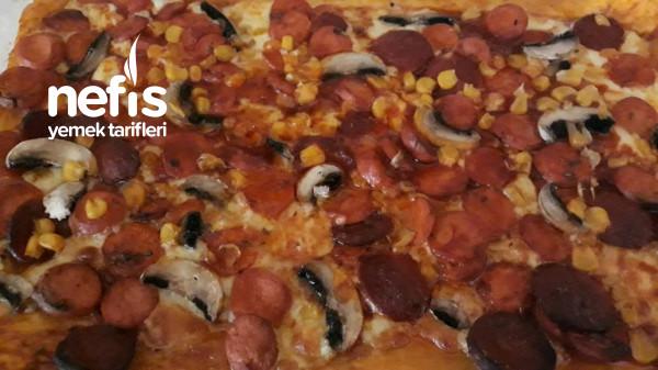 Hazır Hamurdan Çıtır Pizza