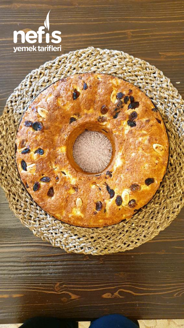 Kugelhopf (Üzüm Ve Bademli Alman Ekmeği)