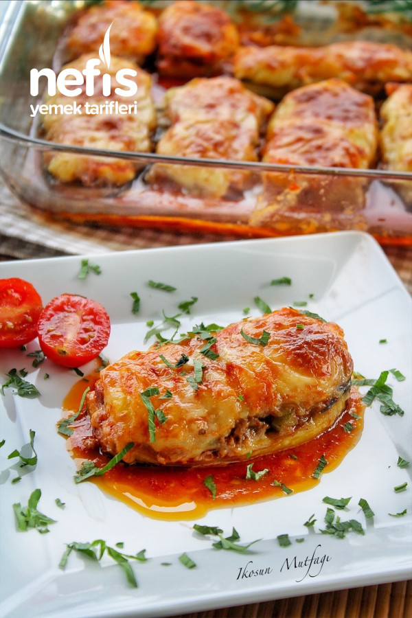 Patates Püreli Patlıcan Kebabı