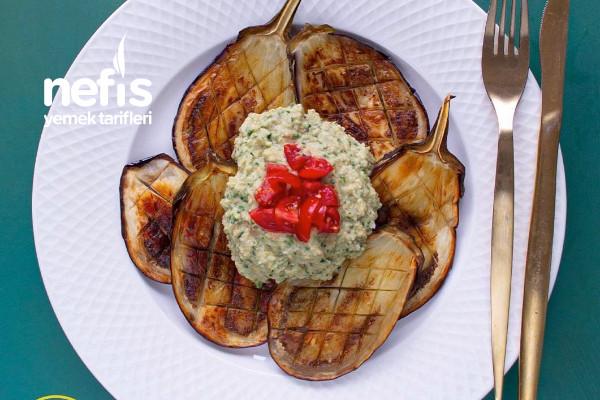 Patlıcan Kızartma Üzeri Humus Tarifi