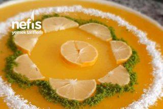 Tart Kalıbında Enfes Limon Soslu Tavuk Göğsü Tarifi