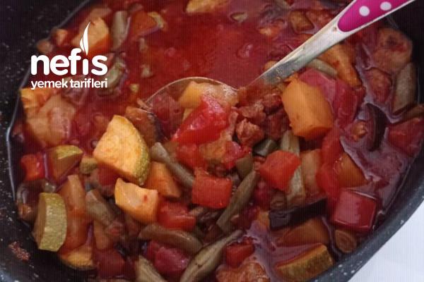 Etli Sebze Yemeği (Türlü) Tarifi