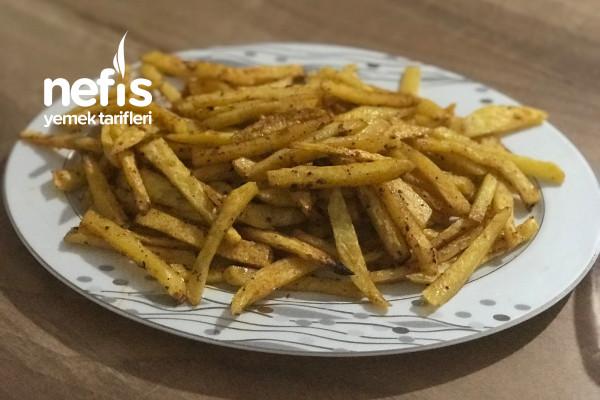 Fırında Patates Çıtır Çıtır (Sarımsaklı Baharatlı) Tarifi