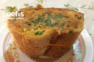 Kaşar Peynirli Yumurtalı Ekmek Tarifi