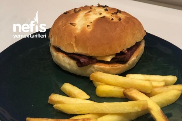 Beef'n Cheddar Ve Hamburger Ekmeği Tarifi