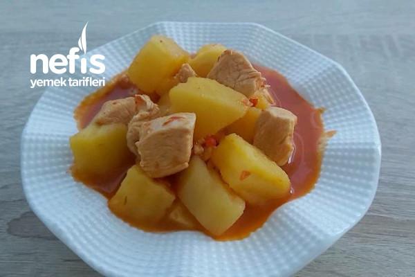 Etli Patates Yemeği ( Videolu ) Tarifi