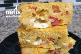Kek Tadında Yufkasız Börek (Hafta Sonu Kahvaltısı) Tarifi