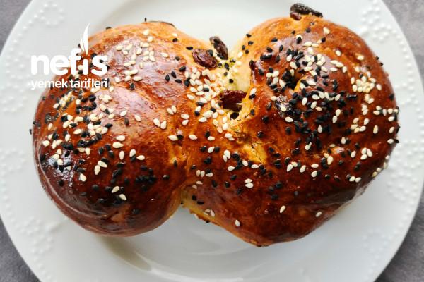 Muzlu Üzümlü Çörek Tarifi