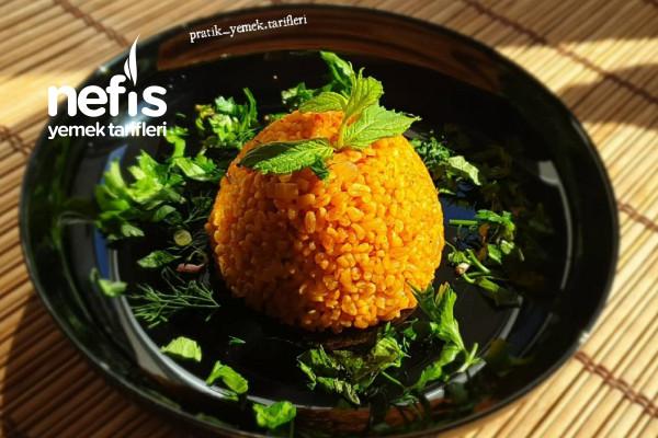 Sebzeli Bulgur Pilavı (Videolu) Tarifi