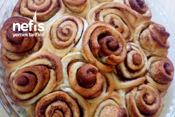 Tarçınlı Rulo Çörek (Cinnamon Rolls) Tarifi