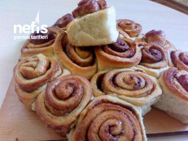 Tarcinli Rulo Çörek (Cinnamon Rolls)