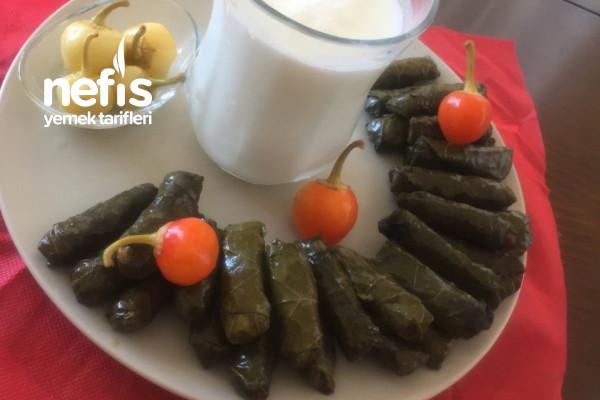 """Zeytinyağlı Sarmayı Sollayacak Gibi:)""""Tavuk Etli Sarma"""