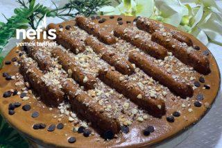 Karamelli Ve Muhallebili Kolay Borcam Pastası (Videolu) Tarifi