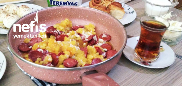 Patatesli Sucuklu Kasarli (Kahvaltinin Yildizlari)