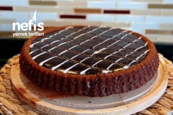 Tart Kalıbında Kakaolu Kek Tarifi